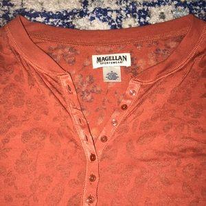 Magellan Outdoors Tops - A beautiful amber colored long sleeve shirt